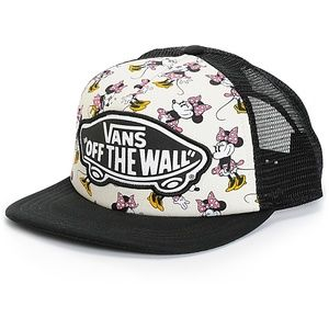 Vans Off The Wall Minnie Mouse Trucker Hat Cap